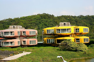 Sanzhi – Der Geisterstadtteil in Taiwan